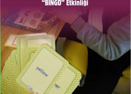 BINGO ETKİNLİĞİ