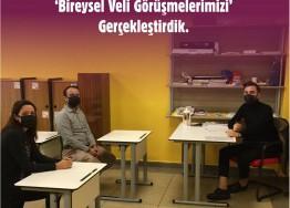 İLKOKUL BİREYSEL VELİ TOPLANTISI