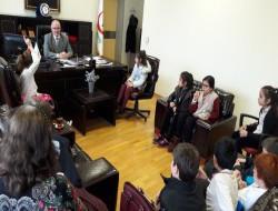 14 Mart Tıp Bayramı Salih Ergüney' e Ziyaretimiz