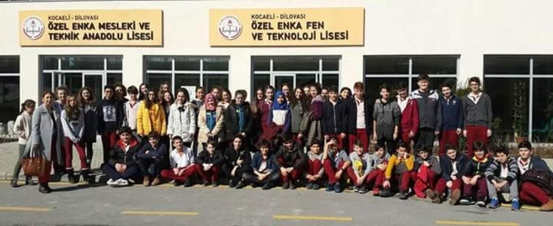 Körfez Fen, Kocaeli Gölcük Fen, Kocaeli Anadolu ,Özel Enka Liselerini Ziyaret Ettik